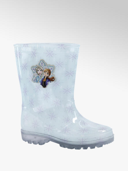 Frozen Lichtblauwe Frozen regenlaars