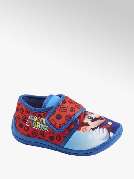 Super Mario Rode pantoffel klittenband