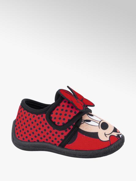 Minnie Mouse Rode pantoffel klittenband