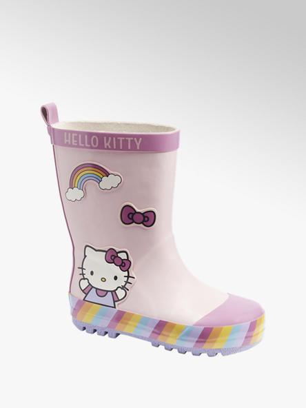 Hello Kitty Lichtroze Hello Kitty regenlaars