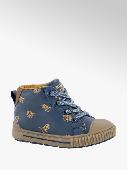 Bobbi-Shoes Blauwe sneaker dino's