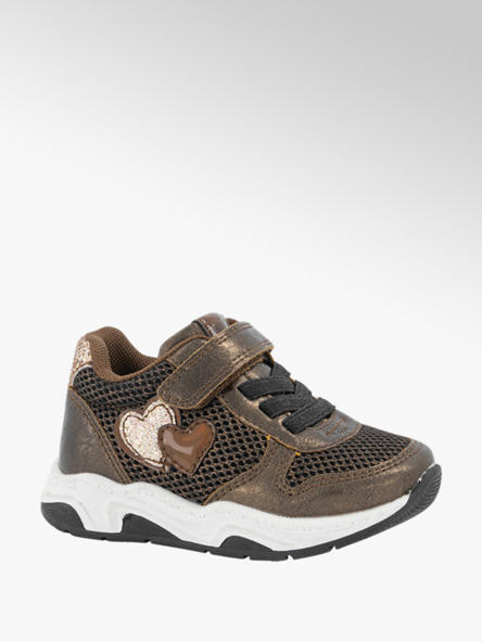 Cupcake Couture Bronzen sneaker klittenband