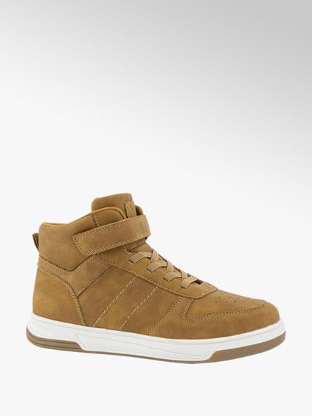 Vty Bruine sneaker klittenband