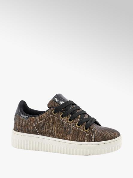 Graceland Bronzen sneaker