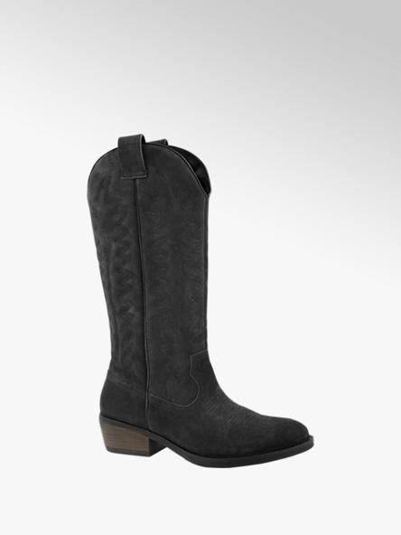 Oxmox Zwarte western boot