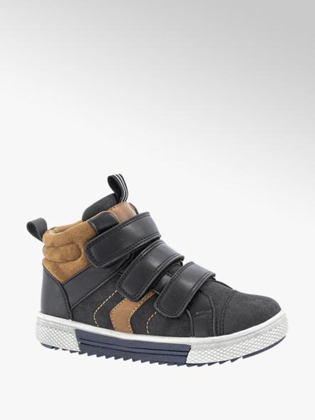Bobbi-Shoes Zwarte sneaker velcro