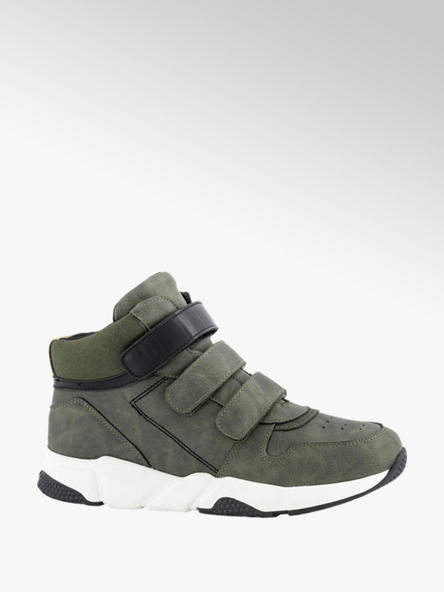Vty Groene sneaker velcro