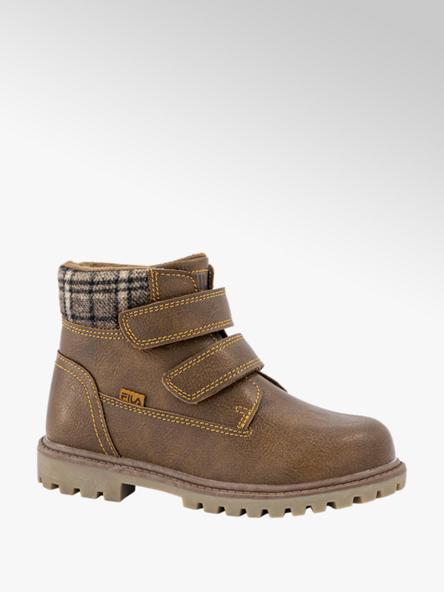 FILA Bruine boot klittenband