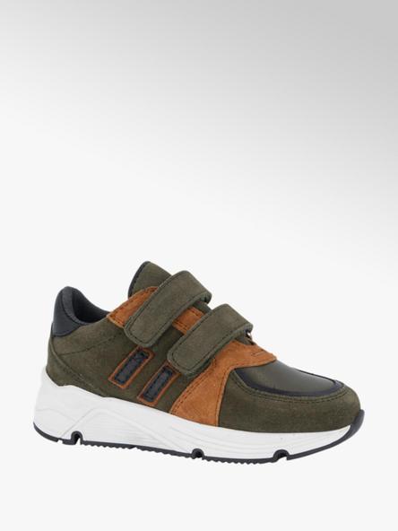 Victory Groene suède sneaker
