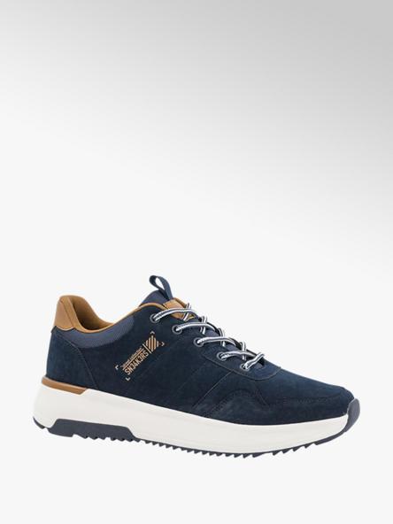 Memphis One Donkerblauwe lightweight sneaker