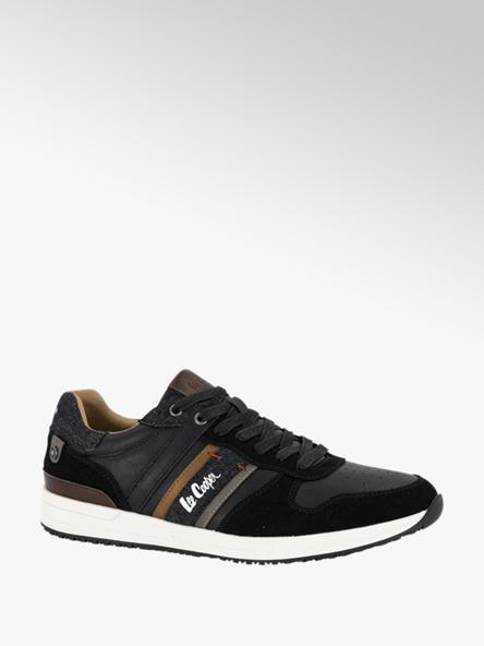 Lee Cooper Zwarte sneaker Edgeware