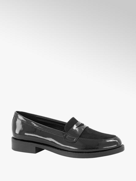 Graceland Zwarte loafer lak