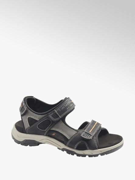 Tom Tailor Мъжки черни сандали с велкро Tom Tailor