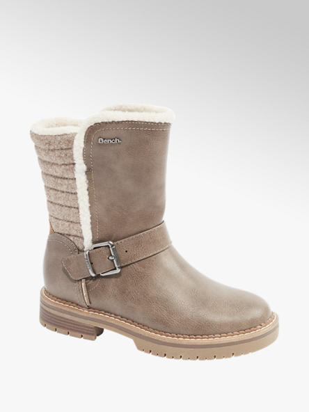Bench Gefütterte Boots in Taupe