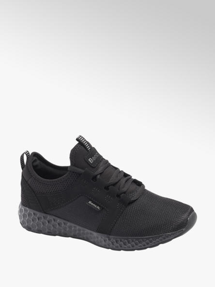Bench Black Lace Up Bench Casual Trainers