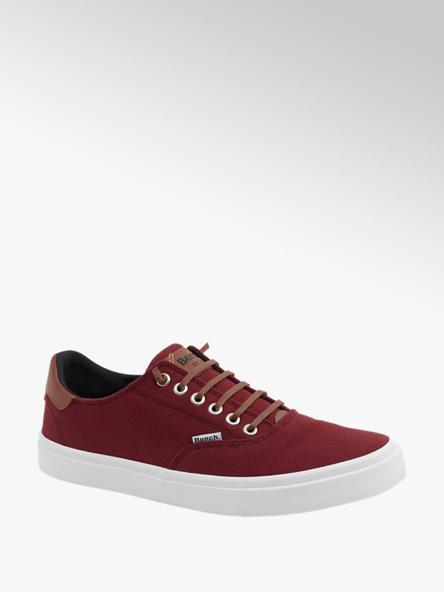Bench Leinen Slip On Sneaker in Rot