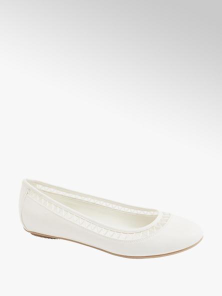 Graceland Biele baleríny Graceland