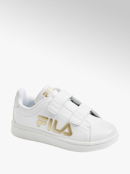Fila Biele detské tenisky na suchý zips Fila
