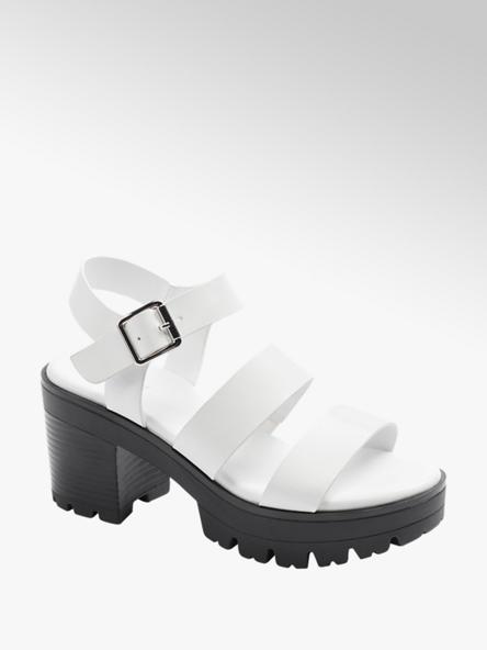 Catwalk Biele sandále Catwalk