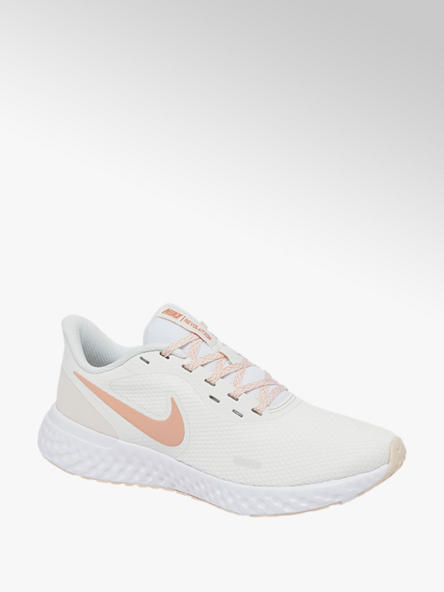 NIKE Biele tenisky Nike Revolution 5