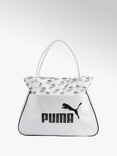 Puma Bílá kabelka Puma Core Up Retro Tote