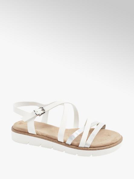 Graceland Bílé sandály Graceland