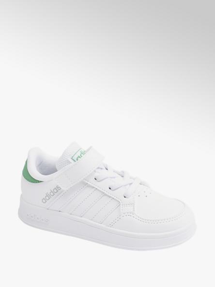 adidas Bílé tenisky na suchý zip adidas Breaknet C