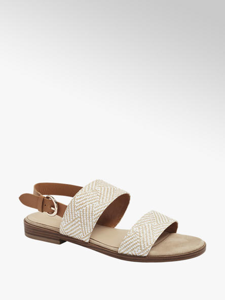 Graceland Béžové sandále Graceland