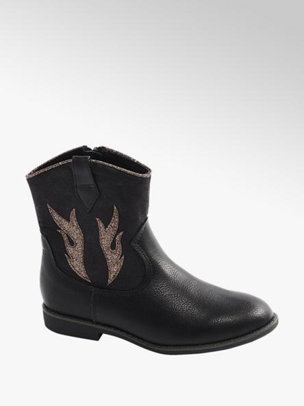 Cupcake Couture Boots in Schwarz mit Glitzer