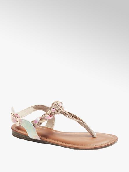 Graceland Dúhové dievčenské sandále Graceland