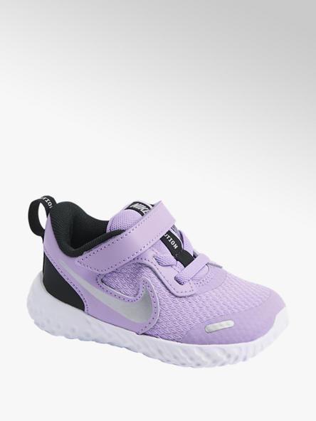 NIKE Fialové detské tenisky Nike Revolution 5 (Tdv)