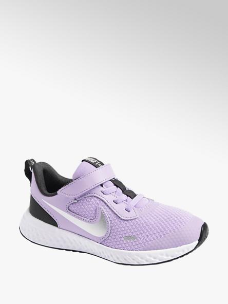 NIKE Fialové tenisky na suchý zips Nike Revolution 5