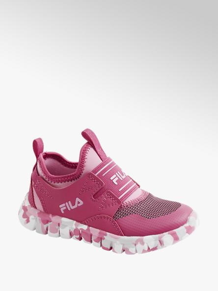 Fila Sock Sneaker in Pink