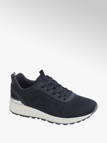 Graceland Plateau Sneaker in Dunkelblau