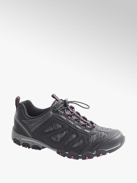 Graceland Slip On Trekking Schuhe in Schwarz