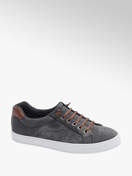 Graceland Sneaker in Grau mit Denim-Optik