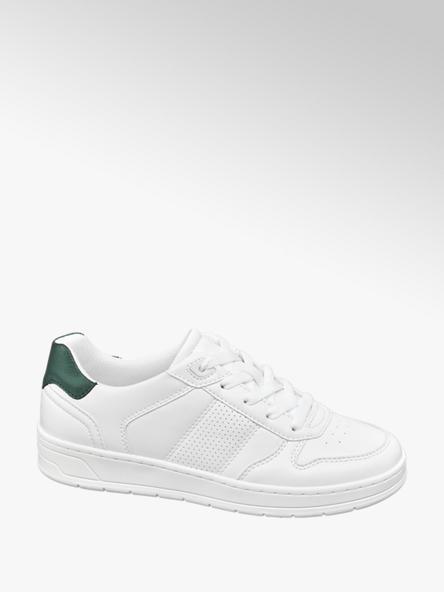 Graceland Sneaker in Weiß mit Lederlook