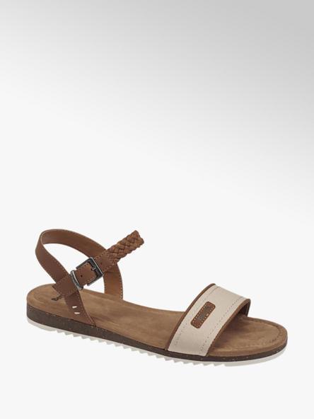 Bench Hnedo-béžové sandále Bench