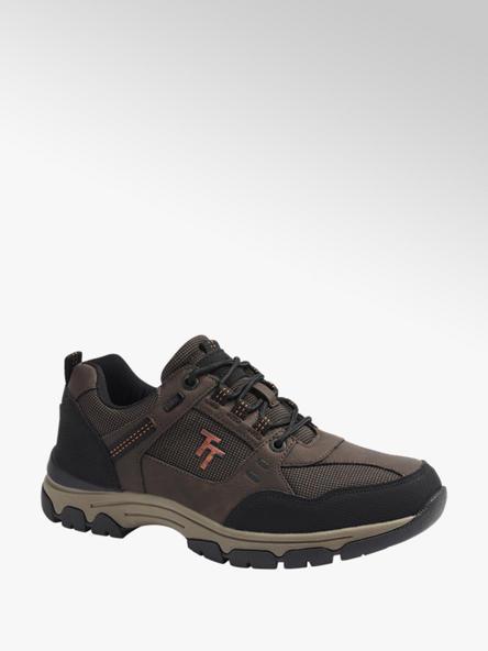 Tom Tailor Hnedo-čierna outdoorová obuv Tom Tailor