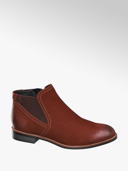 5th Avenue Kožená kotníková obuv