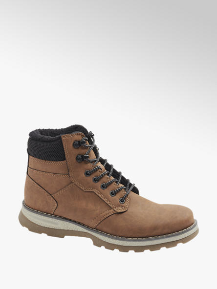 Landrover Mens Landrover Tan Causal Lace-up Boots