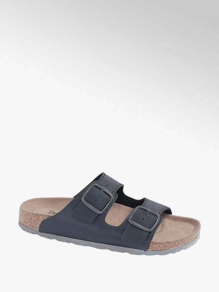 Memphis One Mens Memphis One Blue Twin Buckle Footbed