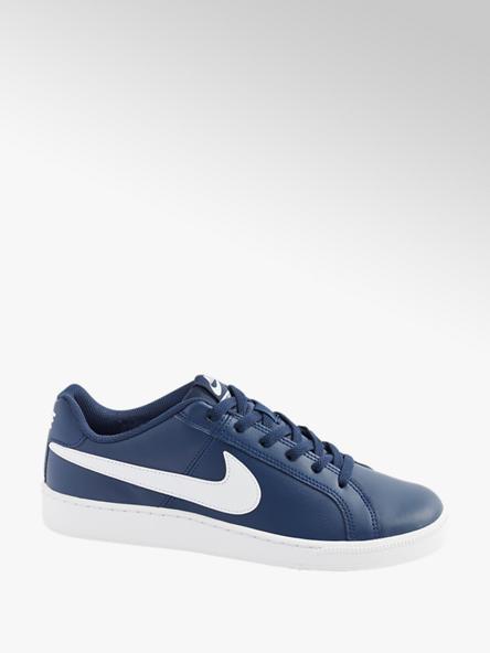 NIKE Modré kožené tenisky Nike Court Royal