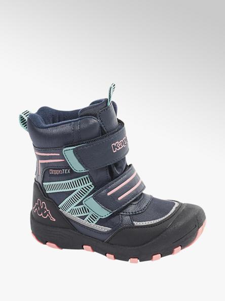 Kappa Modrá kotníková obuv na suchý zip Kappa s TEX membránou