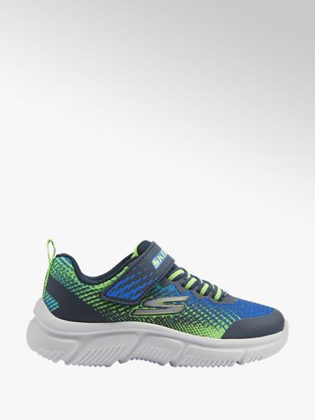 Skechers Modro-zelené tenisky na suchý zips Skechers