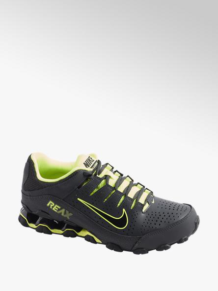 NIKE Sneaker REAX 8 TR in Schwarz mit Neon Details