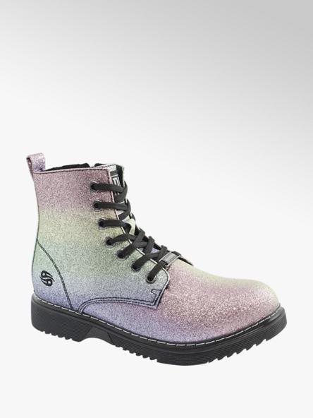 Dockers Pastelově metalická dívčí šněrovací obuv Dockers