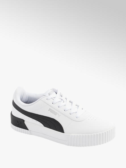 Puma Leder Sneaker CARINA L in Weiß