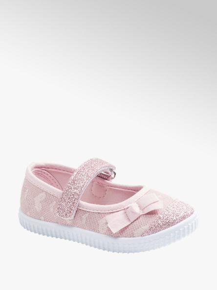 Cupcake Couture Růžové dětské přezůvky Cupcake Couture