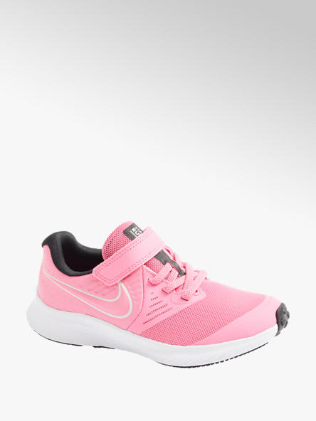 NIKE Růžové tenisky na suchý zip Nike Star Runner 2